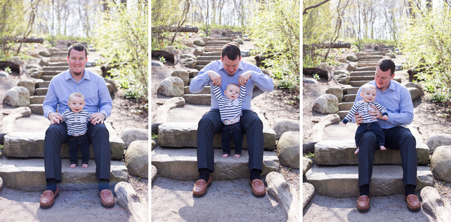 fun long island family session port jefferson new york avalon nature preserve father and son