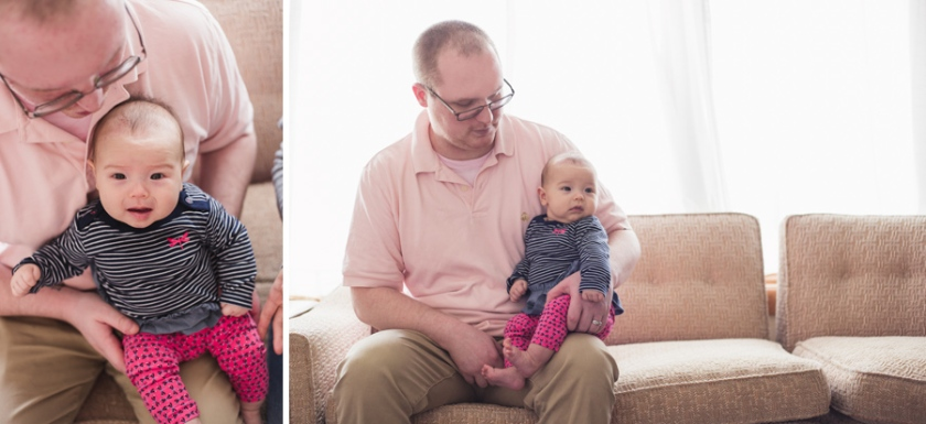100 day old session long island child photographer port jefferson new york daddy and me