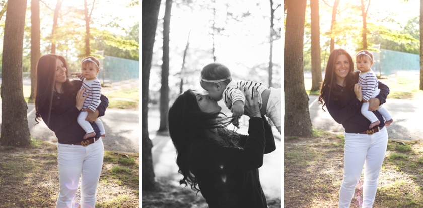 sunny outdoor park family session port jefferson new york long island family photograher