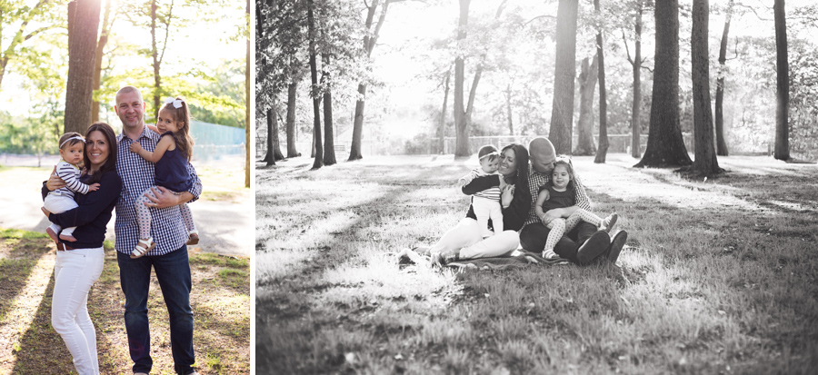 sunset outdoor park family session port jefferson new york long island family photograher