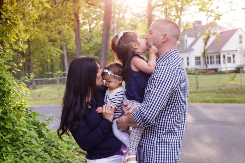 sunset outdoor park family session port jefferson new york long island family photograher