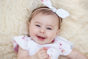 bright image of baby girl from above by jessica michelle photo port jefferson