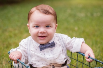 image of chubby baby boy with bow tie during photo session by jessica michelle photo