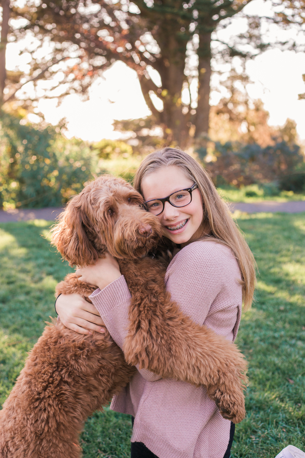 Olivia and Dillon – A girl and her puppy – Jessica Michelle Photo